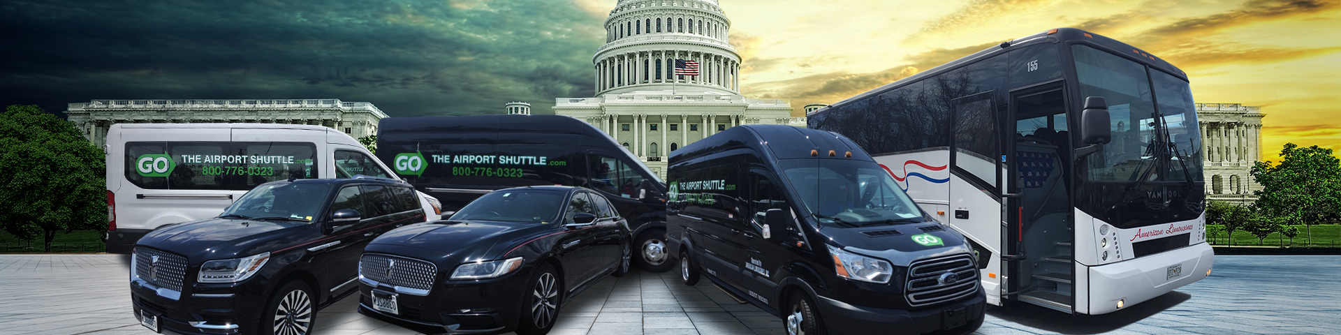BWI Airport to Washington DC Shuttle | The Airport Shuttle