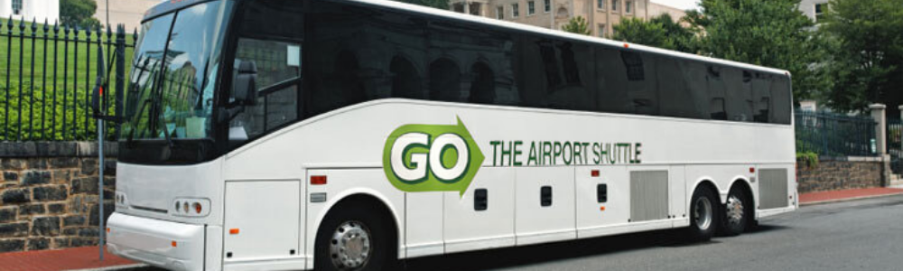 image of full size coach on The Airport Shuttle website